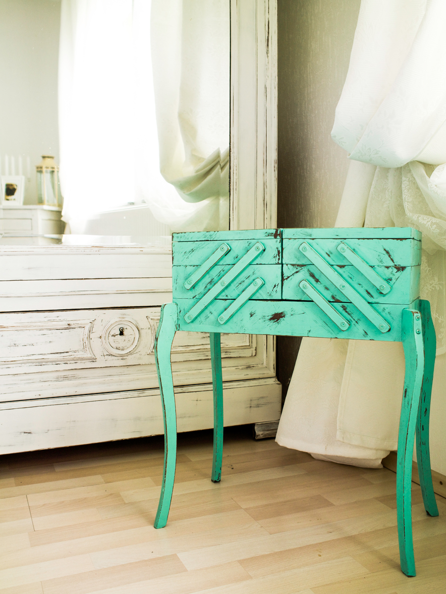 Furniture Makeover, Eco-chic, Luxembourgish DIY Blogger