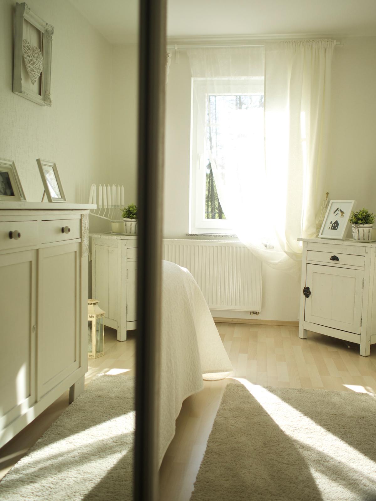 Shade of White, Shabby Chic, Bedroom