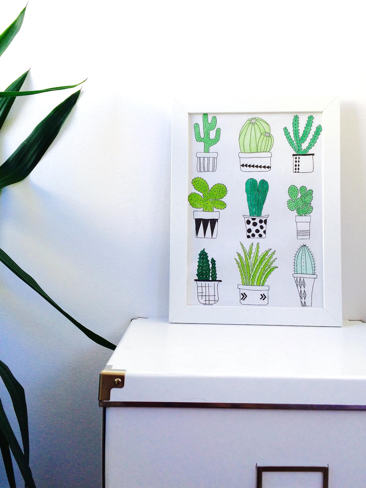 Cactus HomeDecor
