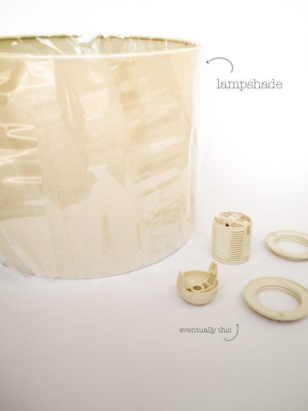 DIY Light Lampshade