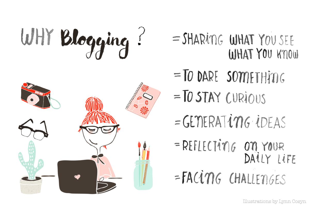 Blogging is...