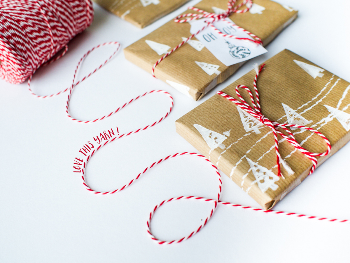 Christmas DIY Wrapping Paper