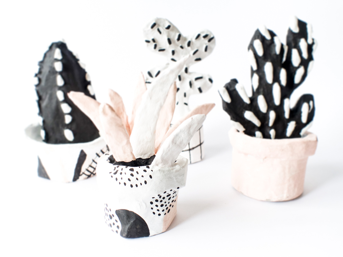 DIY Paper Cactus