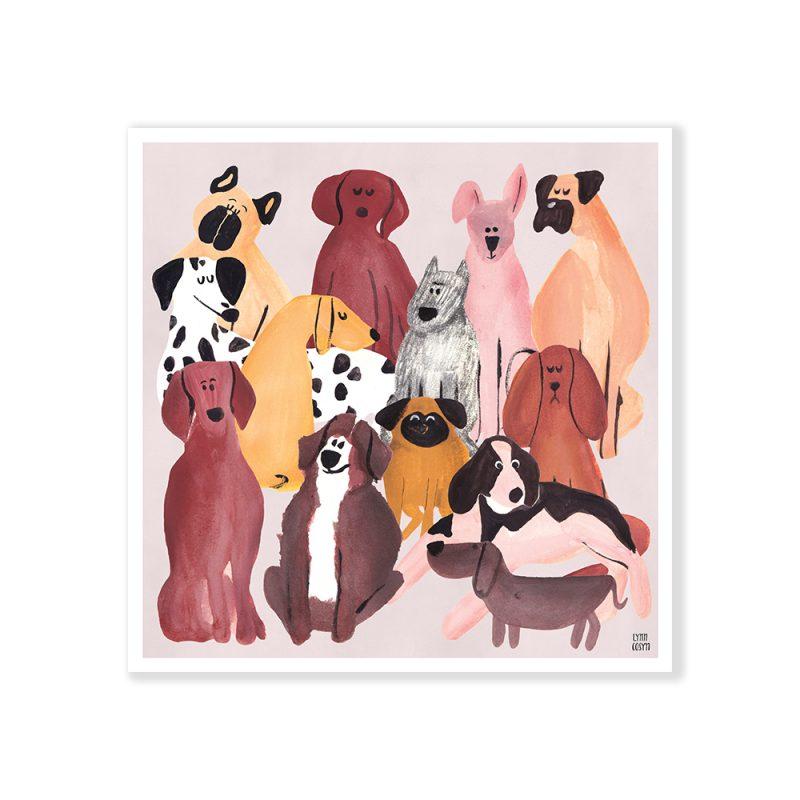 Doggies by Lynn Cosyn