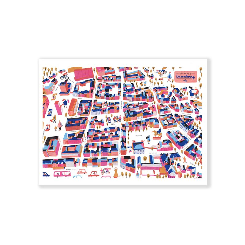 Lynn Cosyn Luxembourg City Map